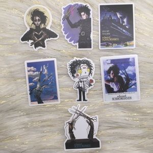 #2 Edward Scissor Hands Sticker Bundle